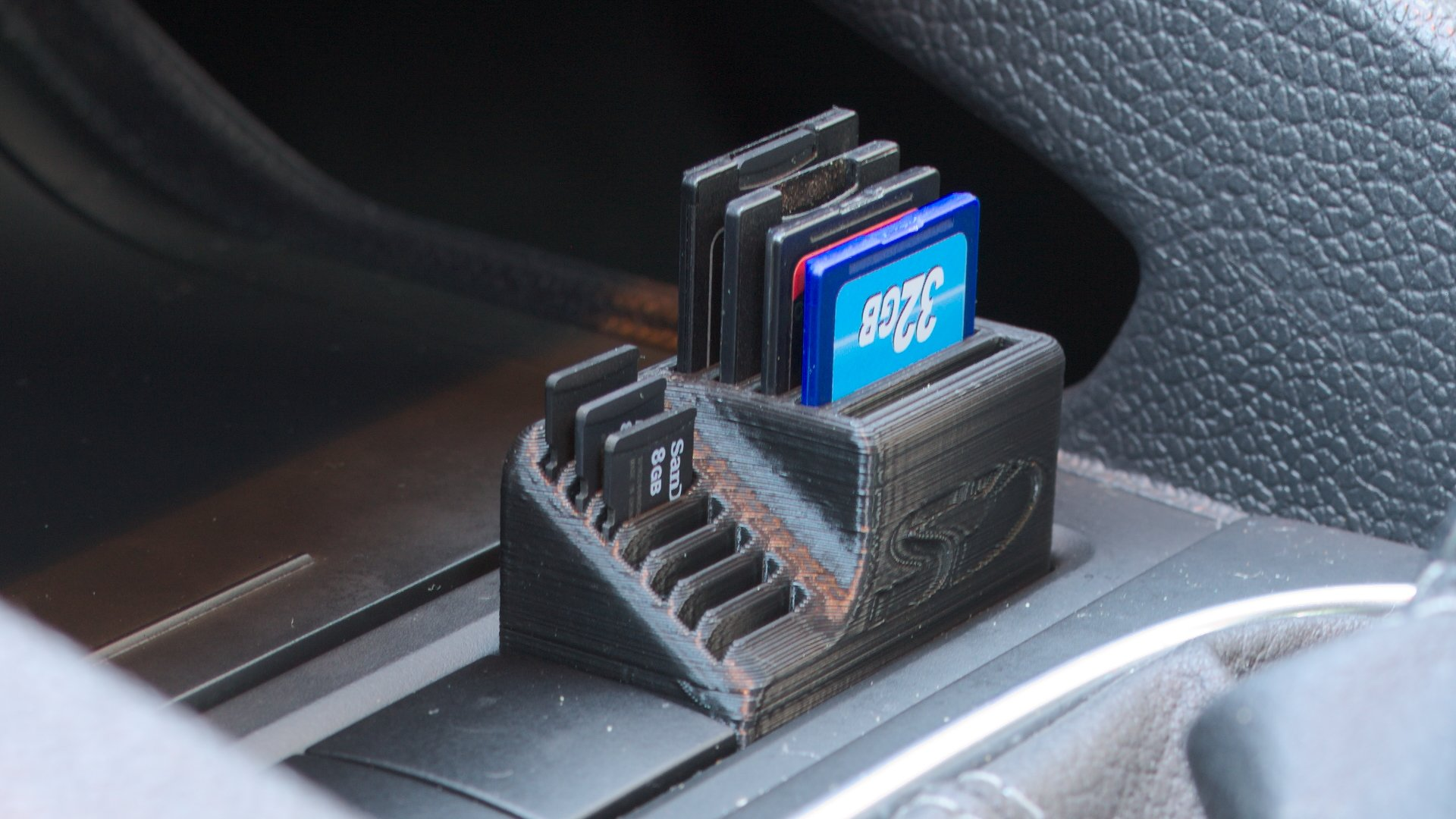 VW SD card holder